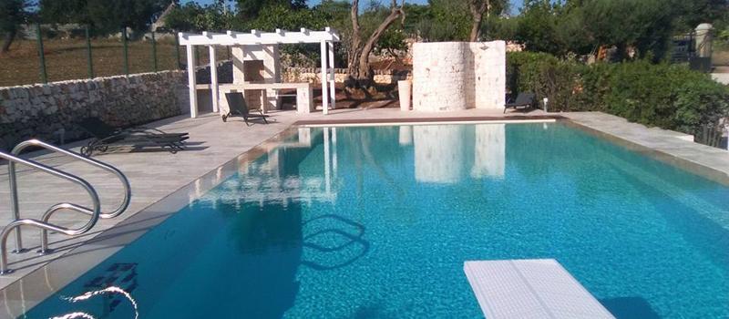 Costruzione di piscine